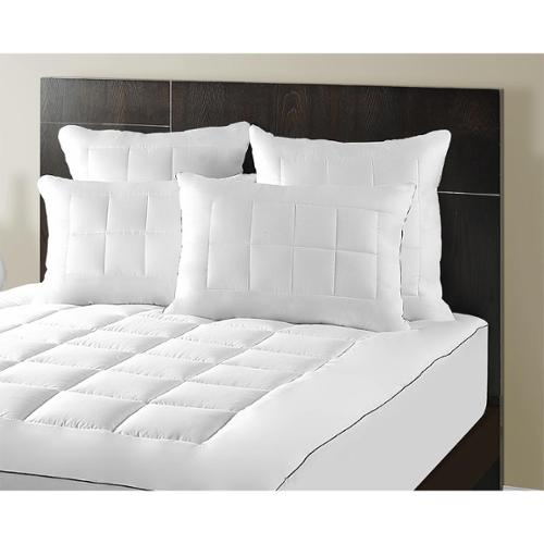 Maison Luxe Ultimate Comfort & Support Luxury Pillowtop Mattress Pad by Overstock