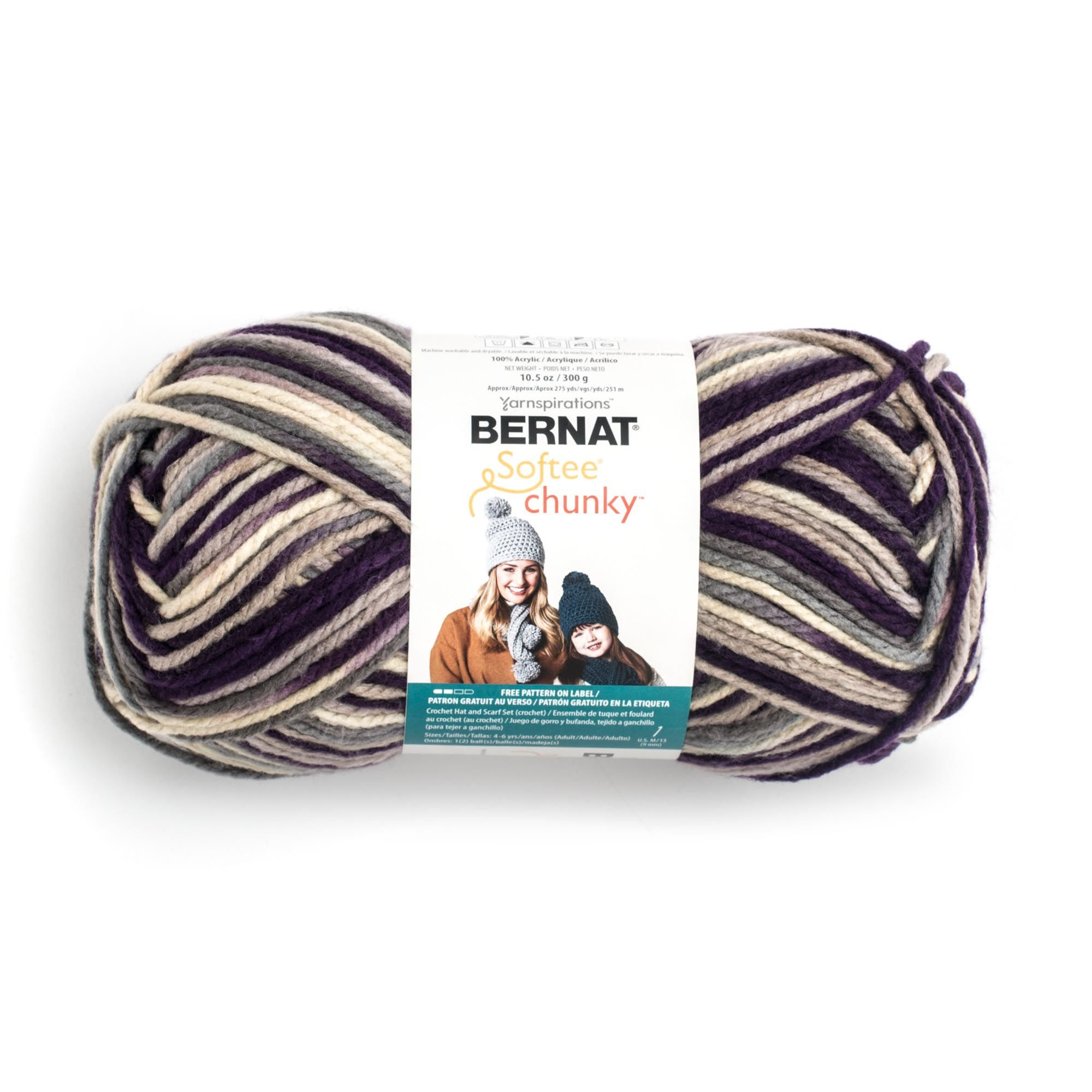 Bernat Softee Chunky Big Ball Yarn - Walmart.com