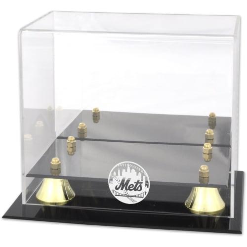 New York Mets Fanatics Authentic Golden Classic Logo Mini Helmet Case - No Size