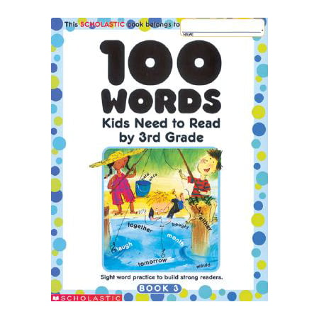 100 Words Kids Need to Read by 3rd Grade : Sight Word Practice to Build Strong Readers - Halloween Ideas 3rd Grade