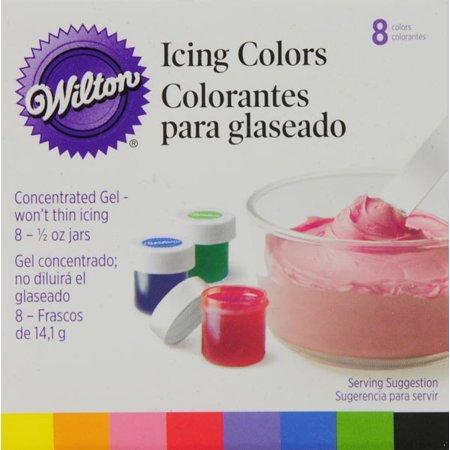 Wilton Icing Colors Set, 8 ct - Walmart.com