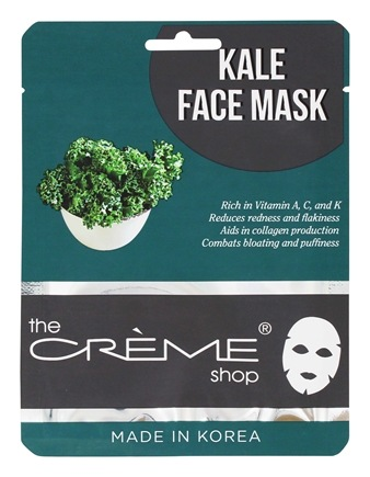 Cucumber Face Sheet Mask - 1 Count by The Creme Shop (pack of 4) Ambi Even & Clear CC+ Even Tone & Environmental Shield, Light/Medium 1.70 oz (Pack of 4)