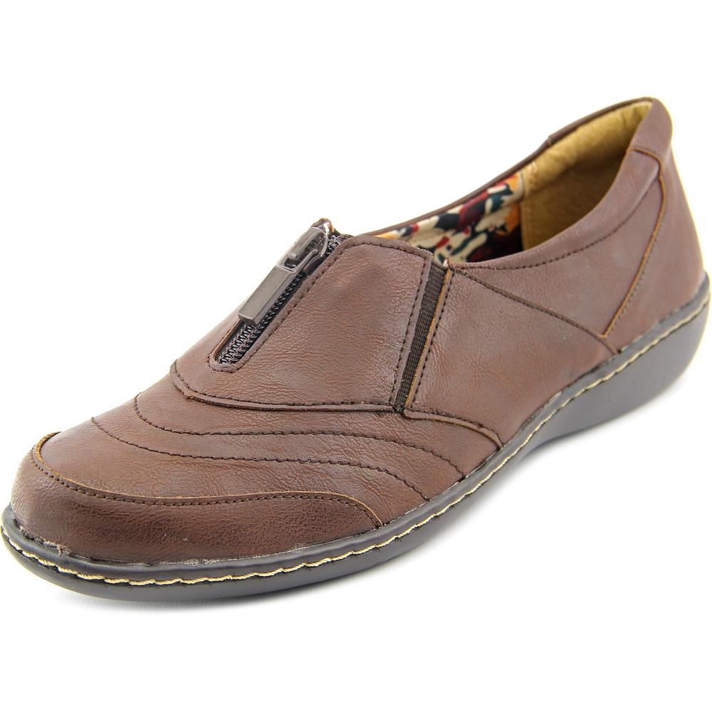Soft Style by Hush Puppies Jennica Women  Round Toe Leather Brown Loafer