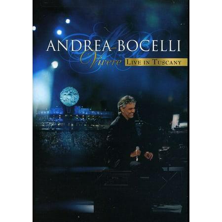Andrea Bocelli: Vivere: Live in Tuscany (DVD + CD) 12 Disc Black Cd Dvd
