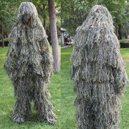 Sporting outdoor New Ghillie Suit Hunting Camo Woodland Camo camouflage