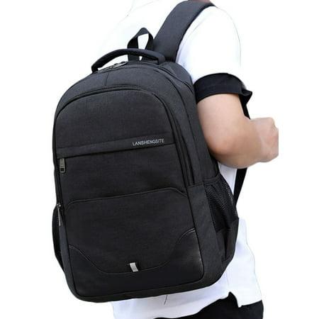 Men's Women's Laptop Bags Notebook Rucksack School College Travel