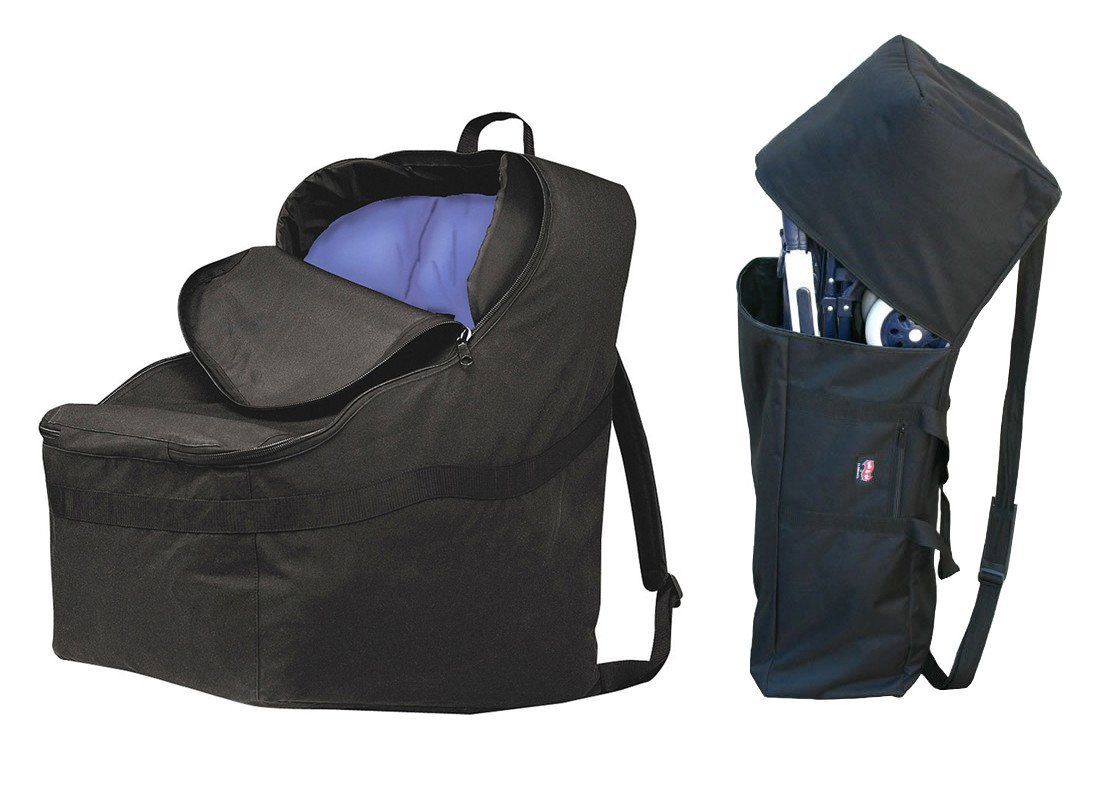 JL Childress Ultimate Car Seat Padded Travel Bag & Umbrella Stroller Bag by J.L. Childress