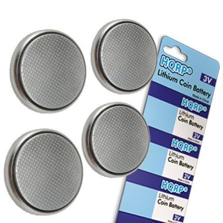 Hqrp 4 Pack Coin Lithium Battery For Nova Max Blood Glucose Monitor   Hqrp Coaster