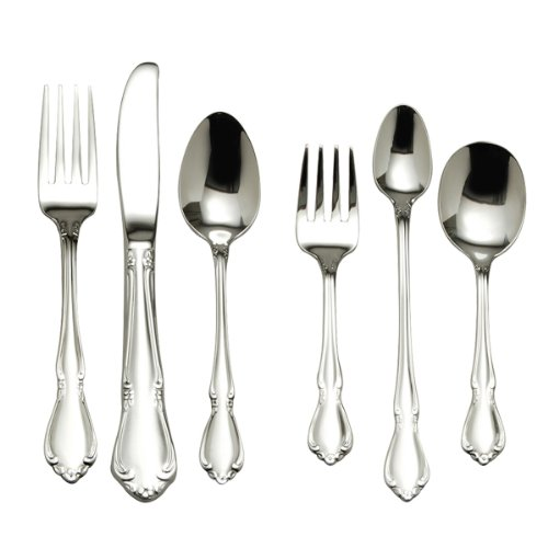Oneida Chateau 6-Piece Progress Flatware Set Model 2610006C