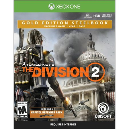 Tom Clancy's The Division 2 - Xbox One Gold Steelbook Edition (Halloween Division Games)