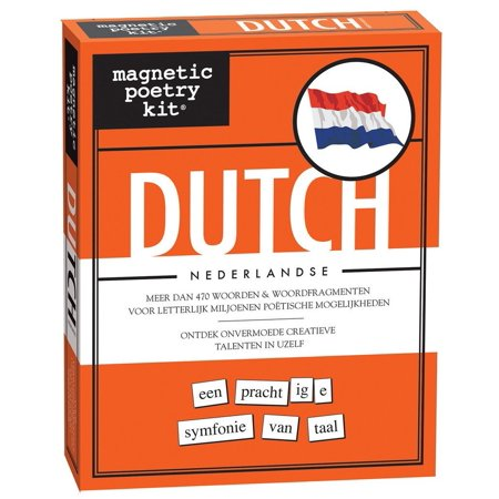 - Dutch (Nederlandse) Kit - Words for Refrigerator - Write Poems and Letters on the Fridge - Made in the USA, The Dutch Magnetic Poetry Kit was developed by.., By Magnetic Poetry ()