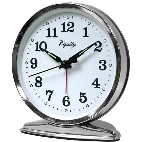 Equity by La Crosse 24014 Wind-Up Loud Bell Alarm Clock by La Crosse Technology