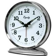 Equity by La Crosse 24014 Wind-Up Loud Bell Alarm Clock