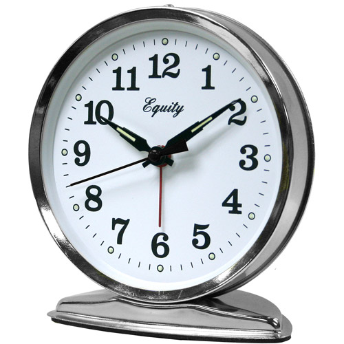 Equity by La Crosse 24014 Wind-Up Loud Bell Alarm Clock