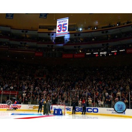 Mike Richters Jersey Retirement Ceremony Photo Print