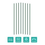 Mr.Garden Garden Stakes 4 ft Plant Stakes for Tomato Orchid Sunflower, Pack of 50