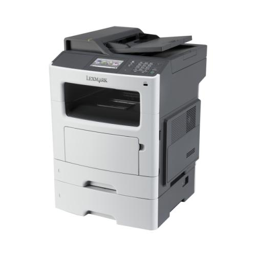 Lexmark MX611DTE Laser Multifunction Printer - Monochrome - Plain Paper Print...
