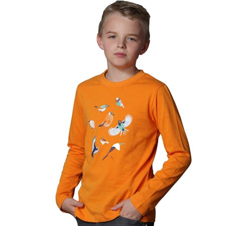 LEO&LILY Big boys Long Sleeves Fashion Casual Jersey Graphic