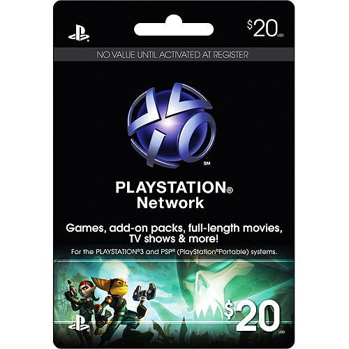 Interactive Commicat Playstation 3 20 Card Walmart Com