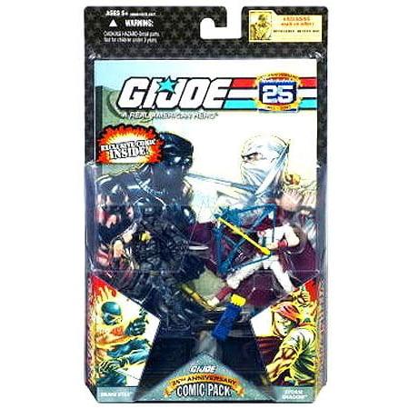 Gi Joe - Hasbro Gij Comic Figures Ss & Se Battle Torn (Party City Joe Battle)