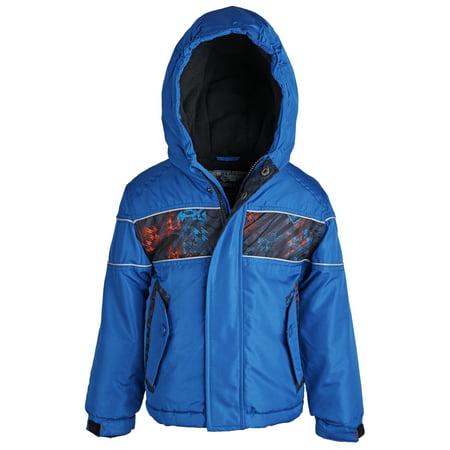 Rothschild Big Boys Down Alternative Fleece Winter Puffer Bubble Jacket Coat - Rothschild Wool Dress Coat