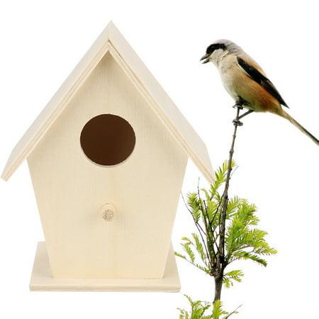 Iuhan Nest Dox Nest House Bird House Bird House Bird Box Bird Box Wooden