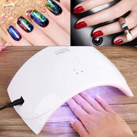 Uv Led Nail Lamp Ymiko Dryer For Gel Polish Curing With Smart Sensor