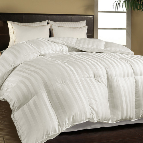 Blue Ridge Home Fashions 500 Thread Count All Season Down Alternative Comforter