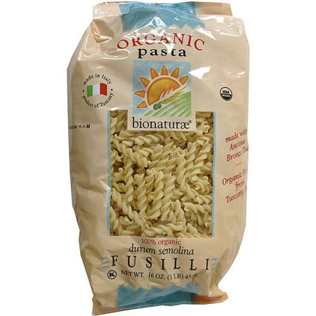 Bionaturae Organic Pasta (Bionaturae Organic Fusilli Pasta Noodles, 16 oz (Pack of 12))