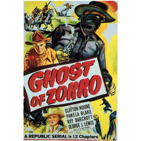 Posterazzi MOVGF3345 Ghost of Zorro Movie Poster - 27 x 40 in. - image 1 of 1