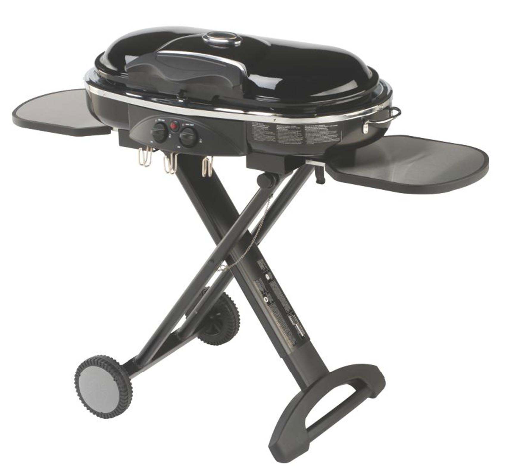 COLEMAN Camping Tailgating Portable Standup Propane RoadTrip LXX Grill - Black
