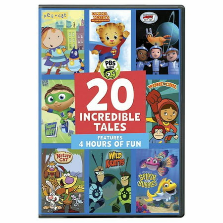 PBS Kids: 20 Incredible Kids (DVD) - Pbs Kids Go Halloween