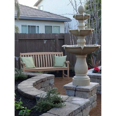 847f8b8327f Sherwood Outdoor Floor Fountain - Walmart.com