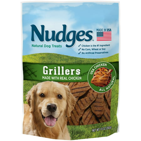 Nudges Grillers Wholesome Dog Treats, 10 - Wholesale Dog