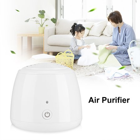 Dilwe USB Portable Mini Anion Air Purifier Cleaner Refrigerator Ozone Deodorizer Sterilizer, Ozone Purifier, Ozone Deodorizer