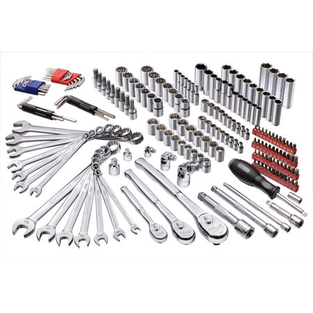 Powerbuilt 200 Piece Master Auto Mechanic s Service Tool Set 642472