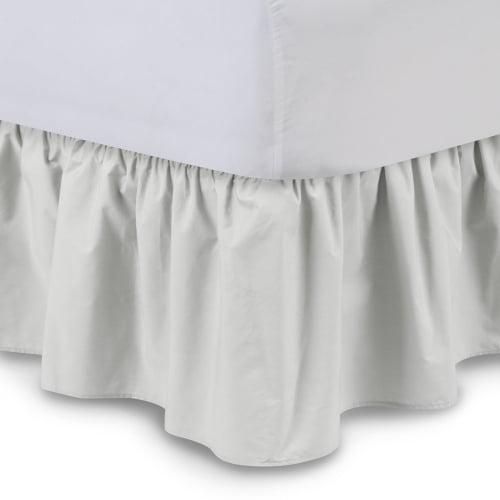 Harmony Lane Ruffled Bed Skirt 14 Inch Drop Cal King Black