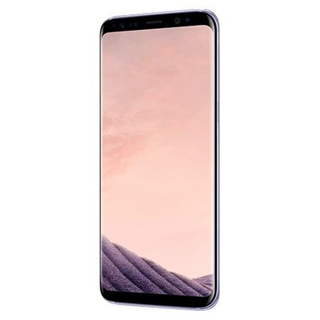 Samsung Galaxy S8 G950U 64GB Unlocked GSM U.S. Version Phone - w/ 12MP Camera - Orchid Gray (Certified Refurbished)