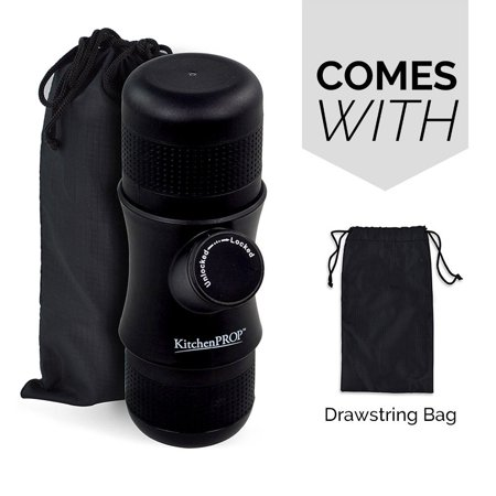 The Original Portable Espresso Maker Handheld Travel Coffee Maker No Battery,No Electronic Power Perfect Gift for Home, Outdoors & Office Portable Espresso Maker