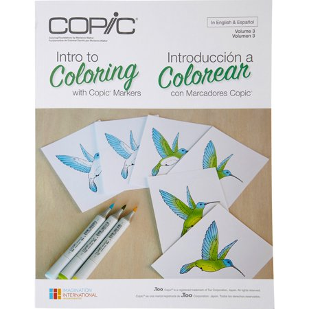 Copic Books Intro To Coloring With Copic