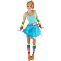 Rainbow Brite Adult Arm and Leg Warmers Halloween Accessory