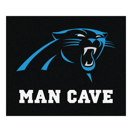 NFL - Carolina Panthers Man Cave Tailgater Rug 5'x6'