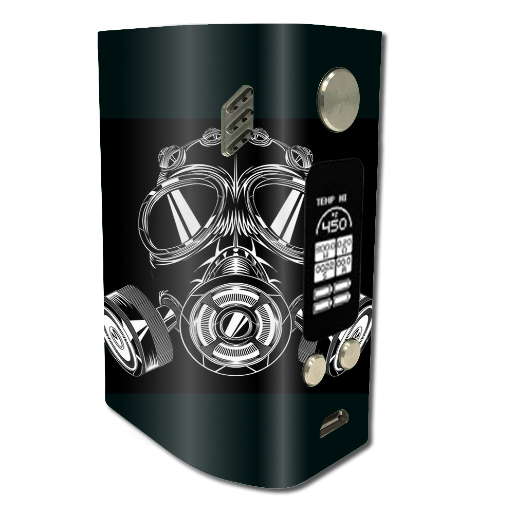 Skin Decal For Wismec Reuleaux Rx300   Apocalypse Gas Mask by Itsaskin