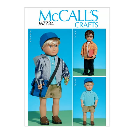 McCall's Sewing Pattern Clothes for 18