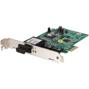 StarTech 1000Mbps Gigabit Ethernet Multi-Mode SC Fiber PCI Express Card 550m