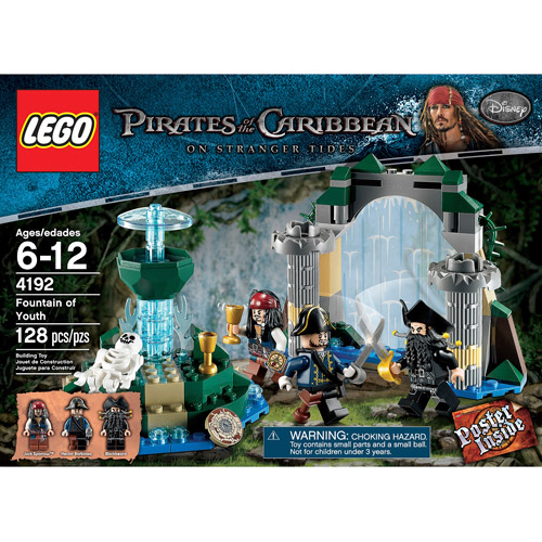Lego Pirates of the Caribbean Aqua de Vida