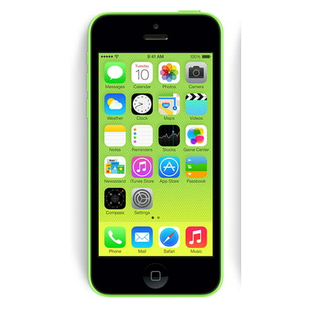 Refurbished Apple iPhone 5c 16GB, Green - Unlocked