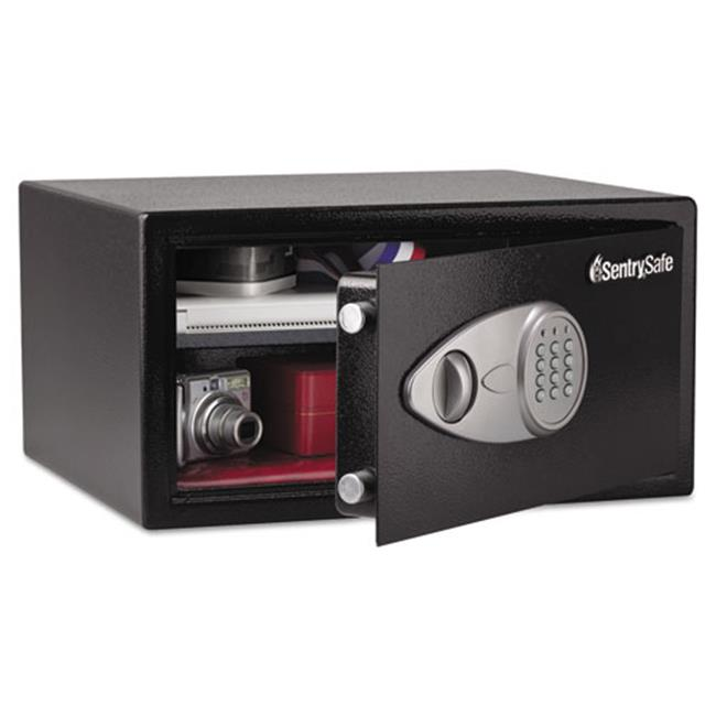 Sentry X105 Electronic Lock Security Safe - 1.0 ft., Black