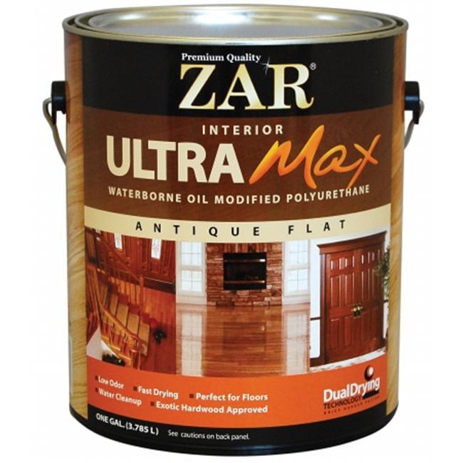 UGL 1 Gallon Antique Flat Zar  Interior Max Waterborne Oil Mo (Set of 2)