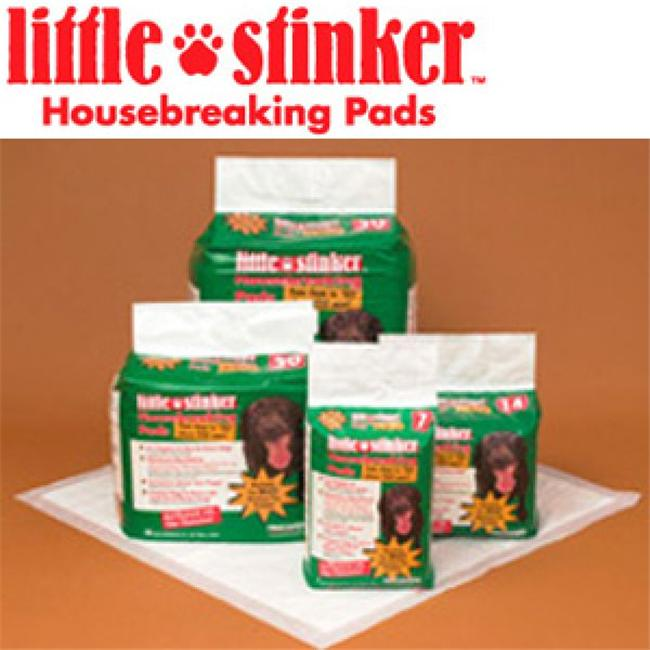 Precision Pet 6000-66030 Little Stinker Housebreaking Pads 24 x 24 Inch - 30-pack